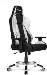 Fotel Akracing Premium V2 Czarno-biały (AK-7002-BS)