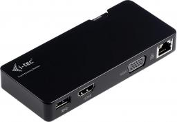 Stacja/replikator I-TEC Travel Docking Station Advance HDMI/VGA/Gigabit Ethernet  (U3TRAVELDOCK)