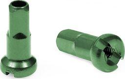 CNSPOKE Nypel CnSpoke AN12 12 mm aluminiowy zielony  uniwersalny