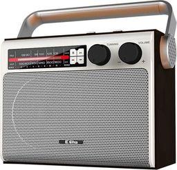Radio Eltra Radio Celina USB, FM Srebrny -5907727028285