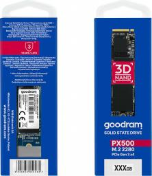 Dysk SSD GoodRam PX500 1TB M.2 PCIe 3x4 NVMe (2280-SSDPR-PX500-01T-80)