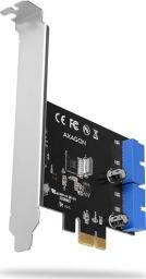 Kontroler Axagon PCI-Express 2.0 -> 2x 19-pin USB 3.0 (PCEU-034VL)