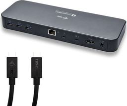 Stacja/replikator I-TEC iTec USB 3.0 Thunderbolt 3 Docking Station + 2 TB3 kabely