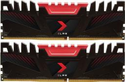 Pamięć PNY Technologies XLR8, DDR4, 16 GB,2666MHz, CL16 (MD16GK2D4266616XR)