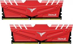 Pamięć Team Group Dark Z, DDR4, 16 GB,2666MHz, CL17 (TDZRD416G2666HC15BDC01)