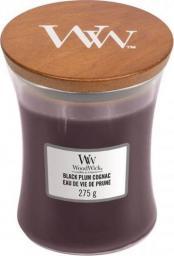 WoodWick Black Plum Cognac świeca zapachowa 275g (92023E)