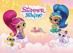 Nickelodeon Dywan dla dzieci ultra miękki 100x150 Shimmer&Shine