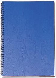 Fellowes okładki skóropodobne DELTA A4 jasnoniebieskie  FSC 100 szt.  (5371403)