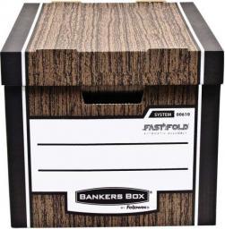 Fellowes Bankers Box WOODGRAIN - pudło na archiwa  FastFold, (0061001)