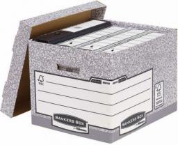 Fellowes Bankers Box System z FSC  pudło na archiwa ze zdejmowanym wiekiem  FastFold,  op. 10 szt.  (00810-FFEU)