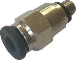 XYZPrinting Szybkozłącze jednostronne M5 rurka 4mm