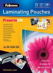 Fellowes folie do laminowania 250 µ, 216x303 mm  A4, 100 szt.  (5401802)