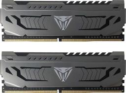 Pamięć Patriot Viper Steel, DDR4, 8 GB, 3200MHz, CL16 (PVS48G320C6K)
