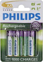 Philips Akumulator Multilife AA / R6 2600mAh 4szt.