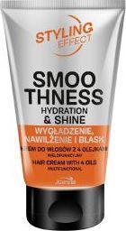 Joanna Styling Effect Smoo Thness Krem do włosów z 4 olejkami Wygładzenie Nawilżenie Blask 125g