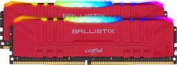 Pamięć Ballistix 32GB Kit DDR4 2x16GB 3200 CL16 DIMM 288pin red RGB