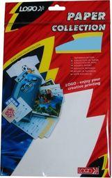 Logo Logo etykiety na CD 78mm x 58mm, A4, matowe, białe, 8 etykiety, CD-R card, 140g/m2, pakowany po 25 szt., do drukarek atramentowych