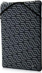 "Torba HP Sleeve na notebook 11.6"", Reversible - Geometric, szary, neopren, HP"