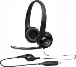 Słuchawki z mikrofonem Logitech USB H390