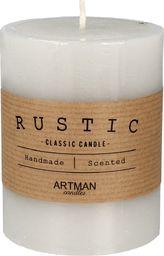 Artman Rustic świeca zapachowa walec mały szary 1 sztuka (987013)