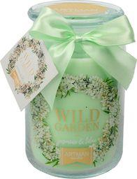 Artman świeca zapachowa Wild Garden Jasmine&Lilac słoik duży 1 sztuka 700g (989710)