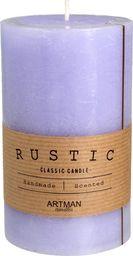 Artman Rustic świeca zapachowa walec średni fioletowy 1 sztuka (987143)