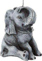 Artman Świeca ozdobna Słoń szary 1 sztuka (989512)