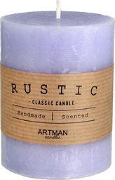 Artman Rustic Świeca zapachowa walec mały fioletowy 1 sztuka (987044)