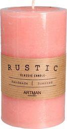 Artman Rustic świeca zapachowa  walec średni różowy 1 sztuk (987068)