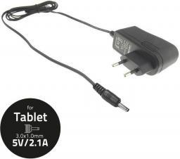 Ładowarka Qoltec zasilacz sieciowy do Tabletu 5V 2.1A, 3.0x1.0  (50031.ŁAD)