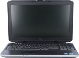 Laptop Dell Dell Latitude E5530 i3-3110M 8GB 120GB SSD 1366x768 Klasa A- uniwersalny