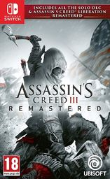Assassins Creed III Remastered PL/ENG (NSW)