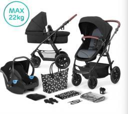 Wózek KinderKraft 3w1 XMOOV black