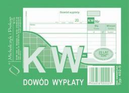 Michalczyk & Prokop Druk KW dowód wypłaty A6 wielokopia, 80kart., M&P  (38K013A)