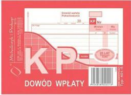 Michalczyk & Prokop Druk KP dowód wpłaty A6 wielokopia, 80kart., M&P (38K012A)