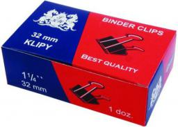Grand Binder Clip, klip do papieru 12szt. 32mm  (21K016C)