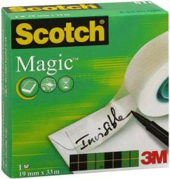 3M Taśma klejąca 3M Scotch&reg  Magic 19mm x 33m (13K005B)