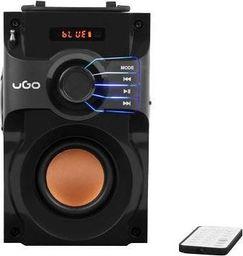 Głośnik UGO Głośnik bezprzewodowy Bluetooth UGO Soundcube czarny 10W
