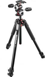 Statyw Manfrotto 055 Alu 3.section Tripod-Kit (MF-055XPRO3-3W)
