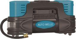 Kompresor samochodowy Auto Welle AUTO WELLE KOMPRESOR 12V 250W  10 BAR Z LATARKĄ LED AWGAW01-20