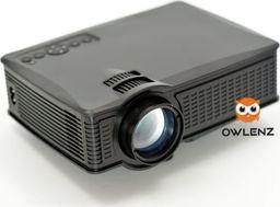 Projektor Owlenz RZUTNIK PROJEKTOR LED OWLENZ SD60 3D/WiFi 1500 LUM