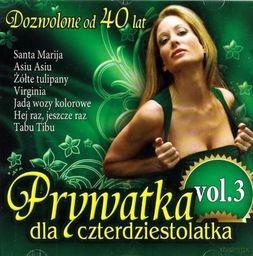 Prywatka dla 40-latka vol.3 CD