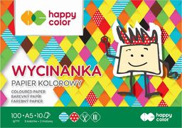 Happy Color Blok Wycinanka A5/10K 100g HAPPY COLOR