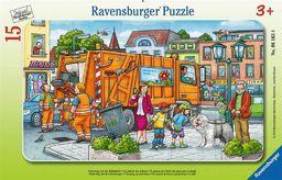 Ravensburger Puzzle 15 Śmieciarka