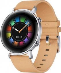Smartwatch Huawei Watch GT 2 42mm Brązowy  (4061856507958)
