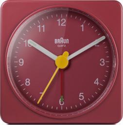 Braun BC 02 R budzik kwarcowy czerwony (67081)