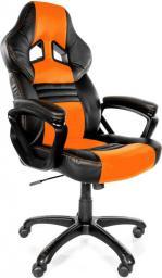 Fotel Arozzi Monza Czarno-pomarańczowy (MONZA-OR)
