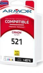 Armor Cartridge do CANON iP 3600/4600 Yellow z czipem (CLI521Y)