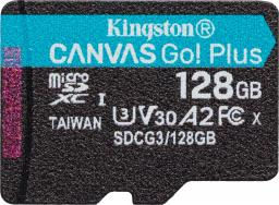 Karta Kingston MicroSDXC Canvas Go! Plus 128 GB (SDCG3/128GBSP)