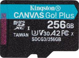Karta Kingston MicroSDXC Canvas Go! Plus 256 GB (SDCG3/256GBSP)